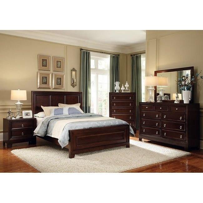 Nortin Panel Bedroom Set