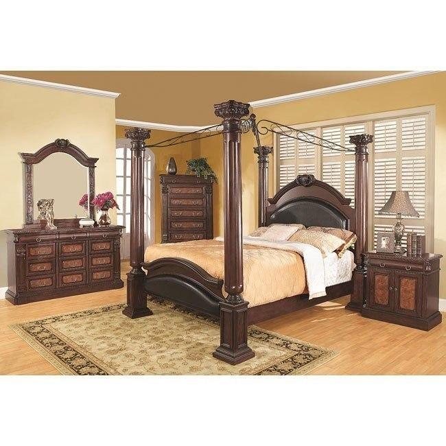Grand Prado Canopy Bedroom Set