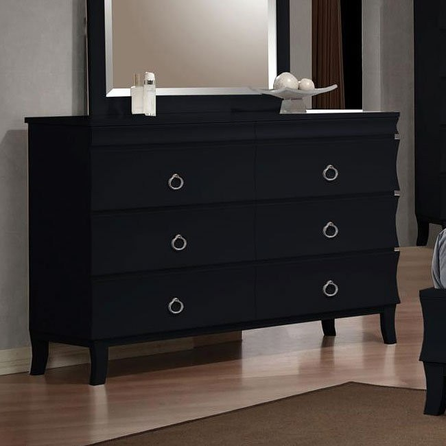 Holland Dresser (Black)