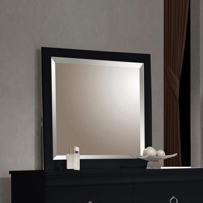 Holland Mirror (Black)