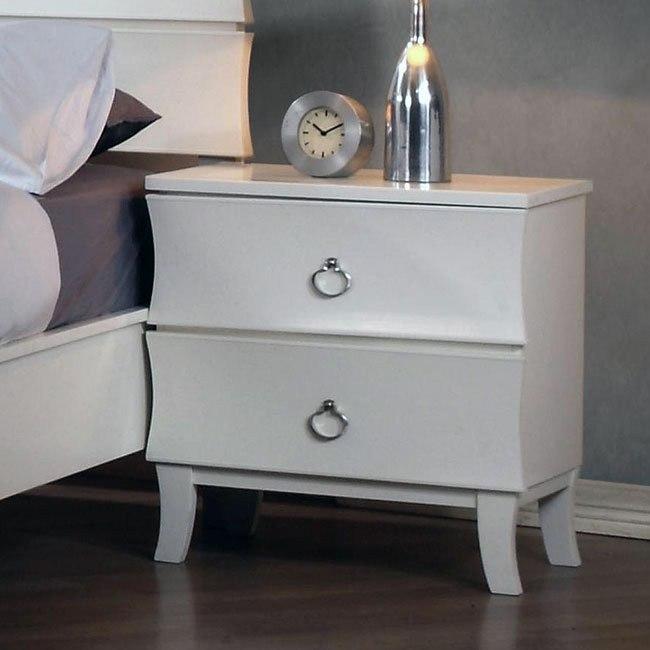 Holland Nightstand (White)