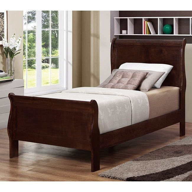 Louis Philippe Youth Bed (Cappuccino)