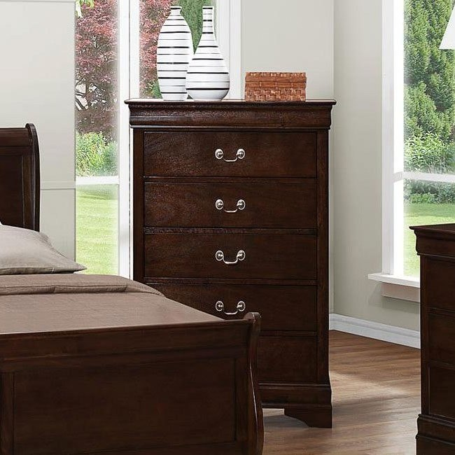 Louis Philippe Chest (Cappuccino)