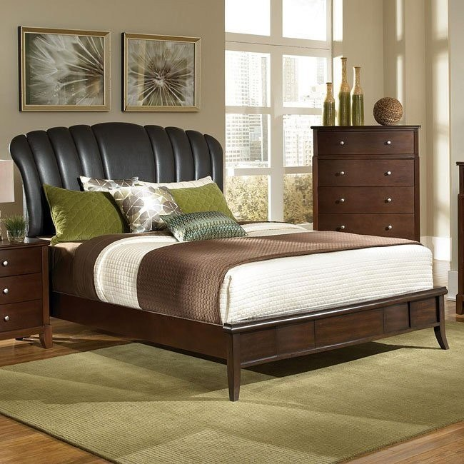 Addley Bed w/ Upholstered Headboard