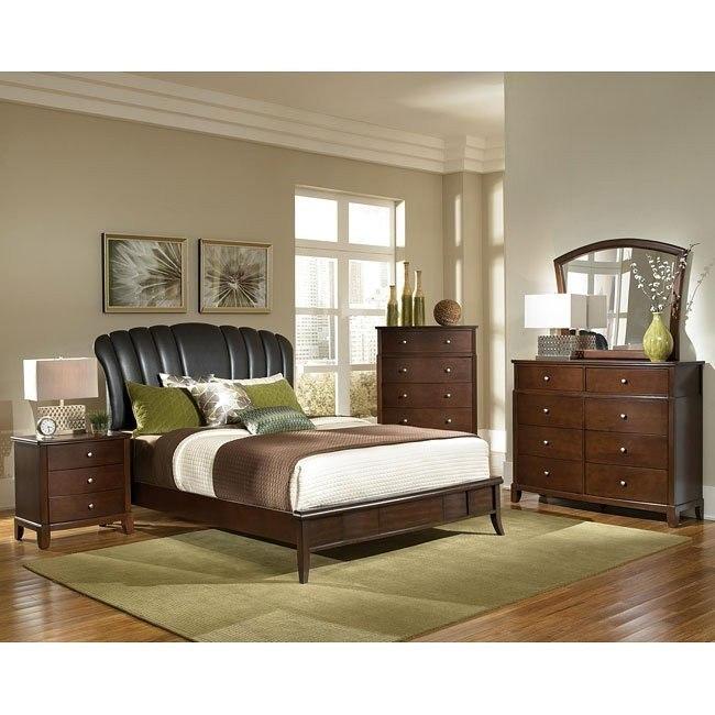 Addley Upholstered Bedroom Set