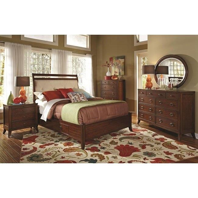 Ortiz Storage Bedroom Set