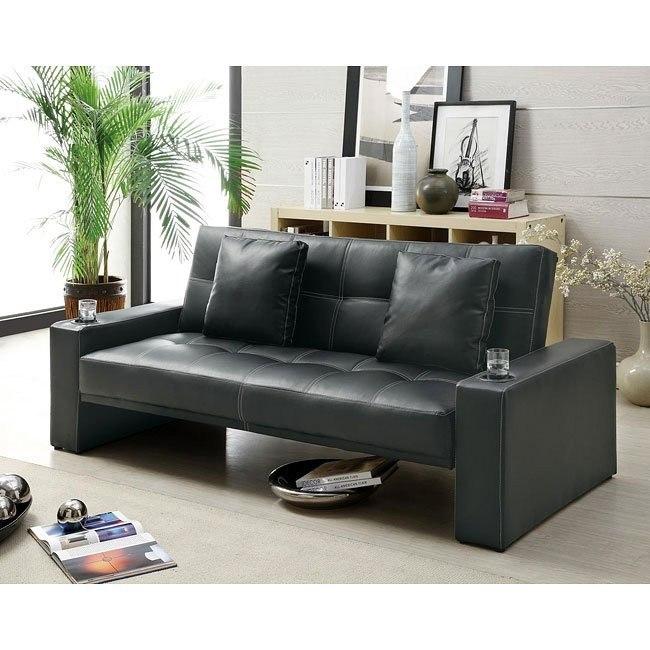 Modern Black Sofa Bed