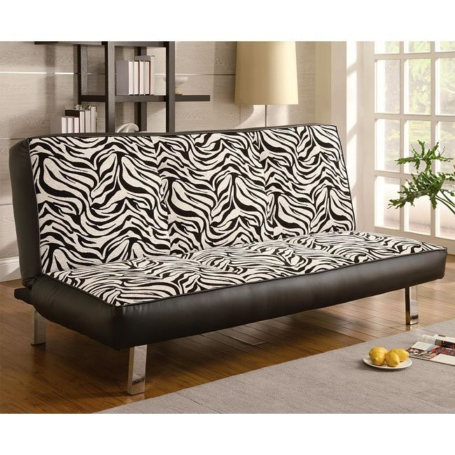 Zebra Pattern Sofa Bed