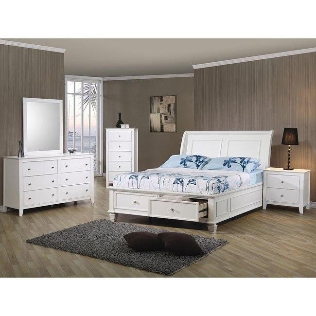 Hermosa Beach - Selena Storage Bedroom Set