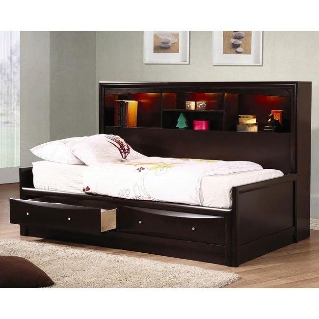 Phoenix Youth Bookcase Bedroom Set