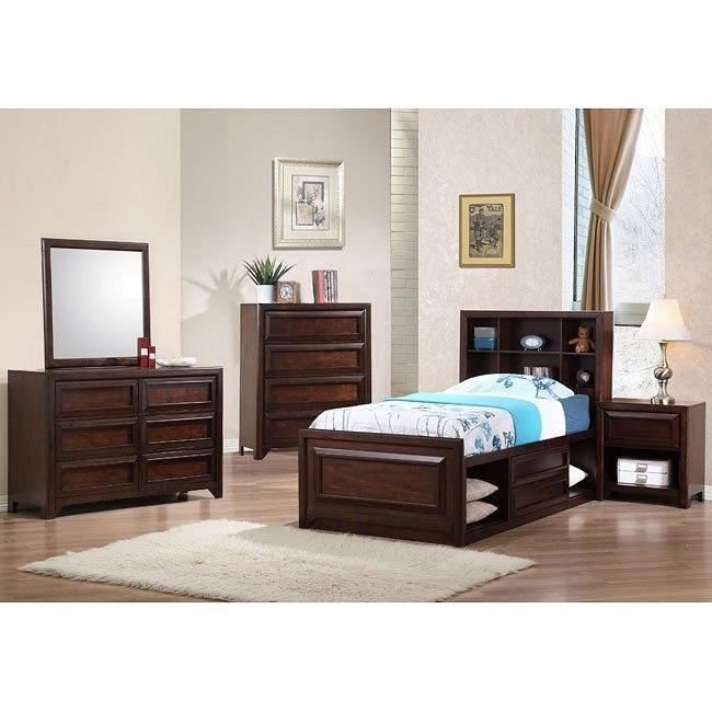 Jerico Storage Bedroom Set