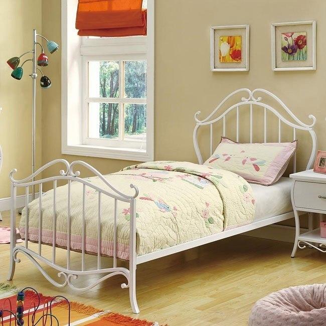 Bella Metal Bed