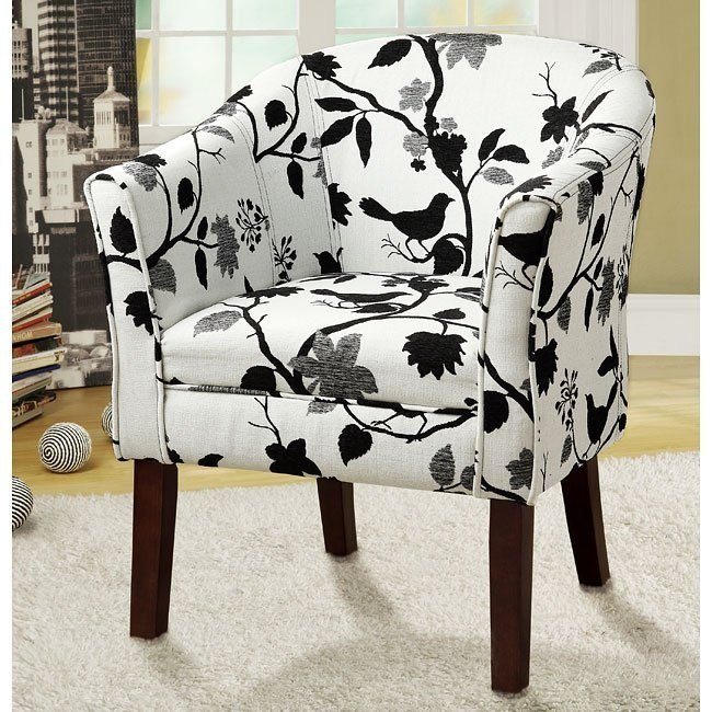 Bird and Branch Accent Chair