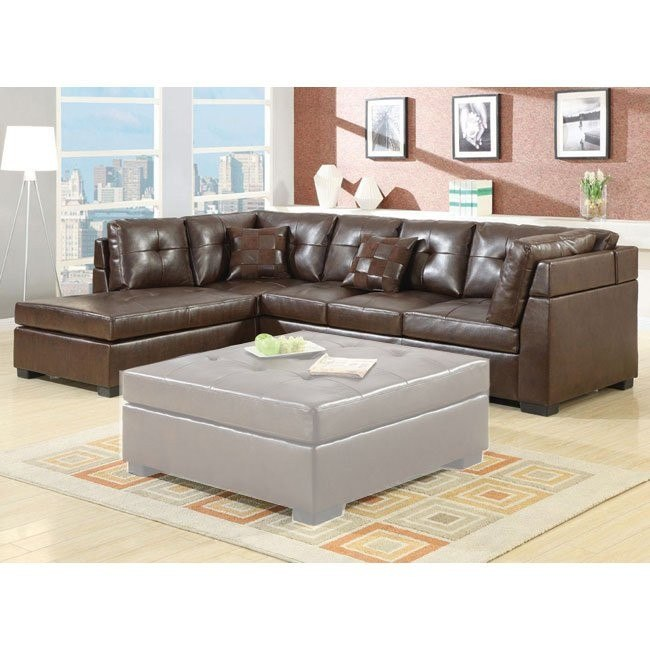 Darie Sectional (Brown)