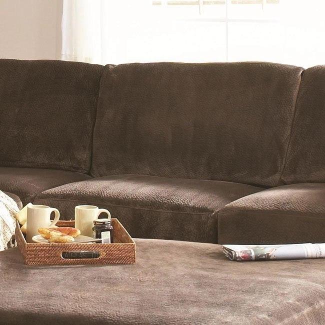 Luka Armless Chair (Coffee)