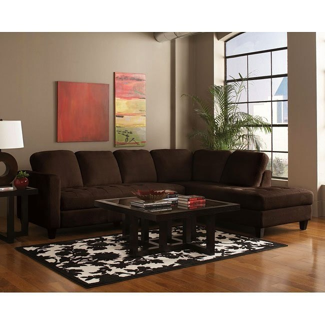 Walker Sectional (Chocolate)