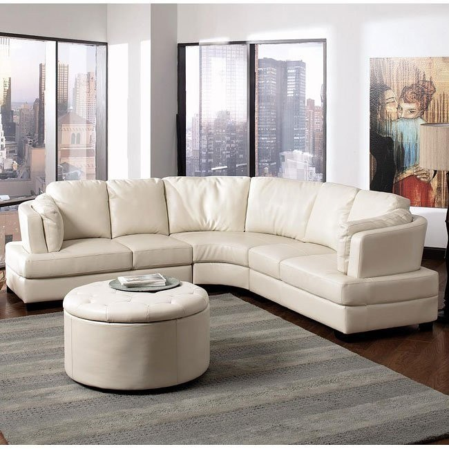 Landen Sectional (Cream)
