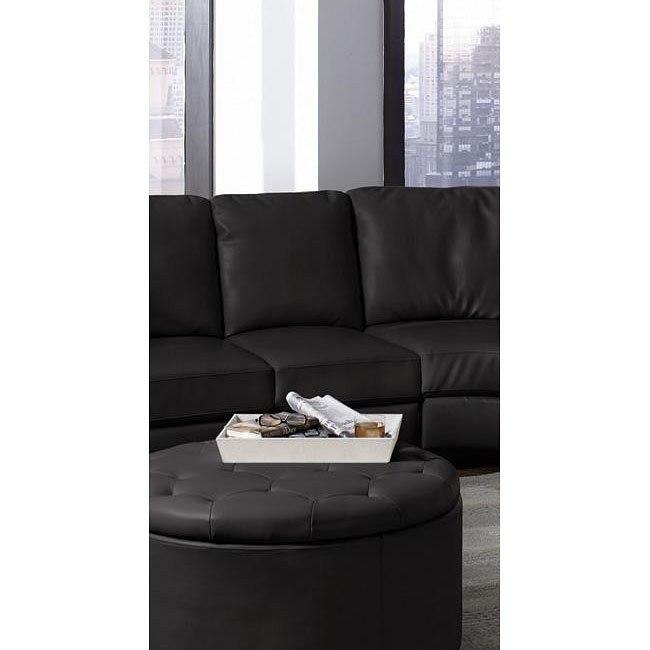 Landen Armless Chair (Black)