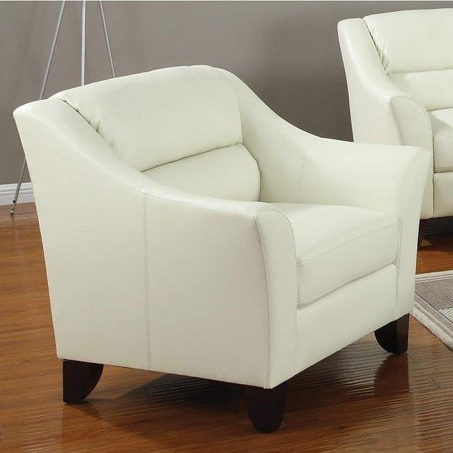 Brooklyn Chair (Ivory)