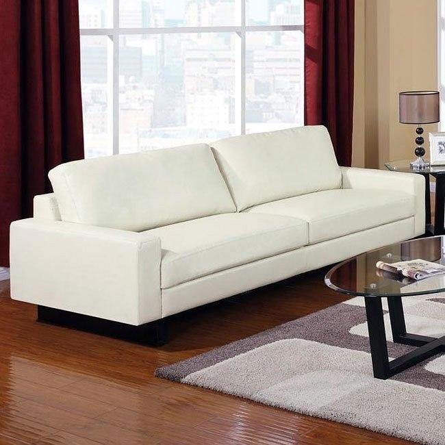 Ava Modern Sofa (Cream)