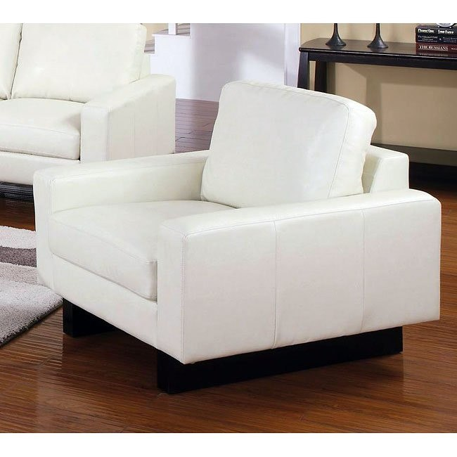 Ava Modern Chair (Cream)