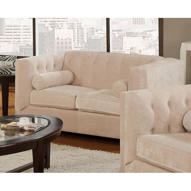 Alexis Loveseat (Almond)