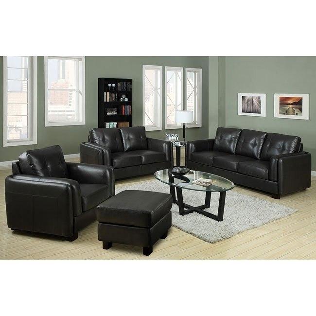 Sawyer Living Room Set (Charcoal)