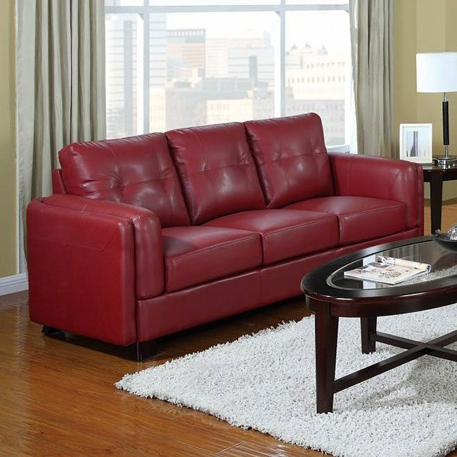 Sawyer Sofa (Red)