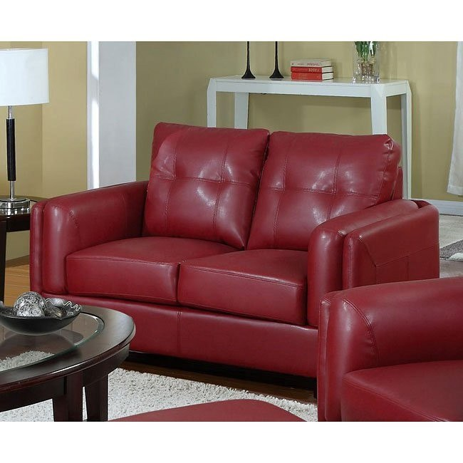 Sawyer Loveseat (Red)