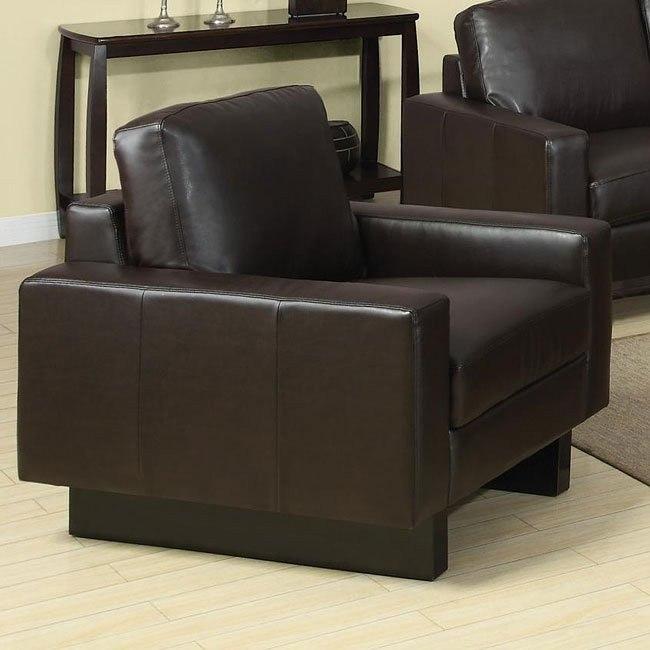 Ava Modern Chair (Brown)