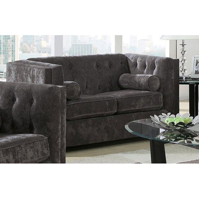 Alexis Loveseat (Charcoal)