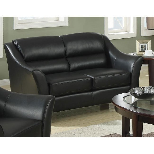 Brooklyn Loveseat (Black)