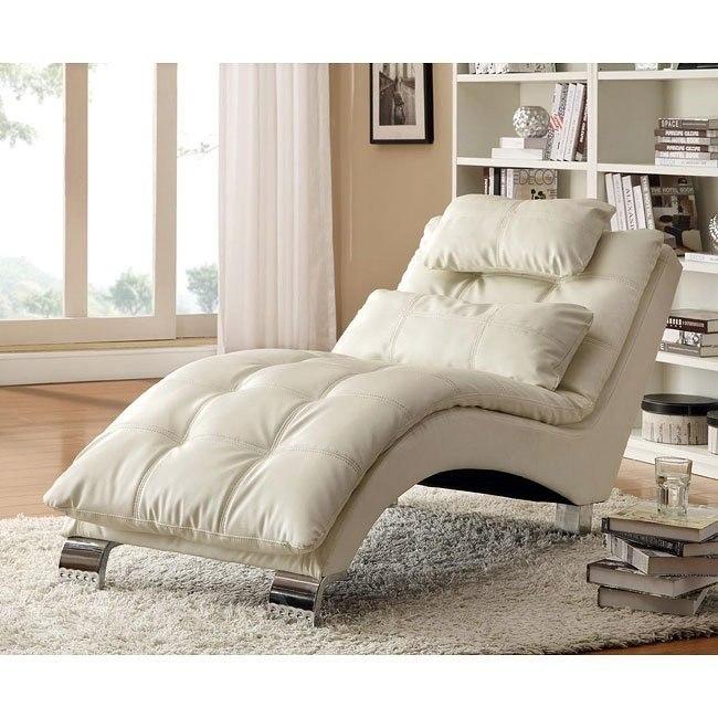 Contemporary Chaise (White)