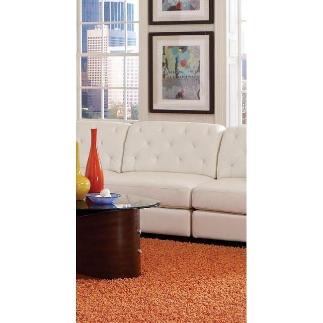 Quinn Armless Chair (White)