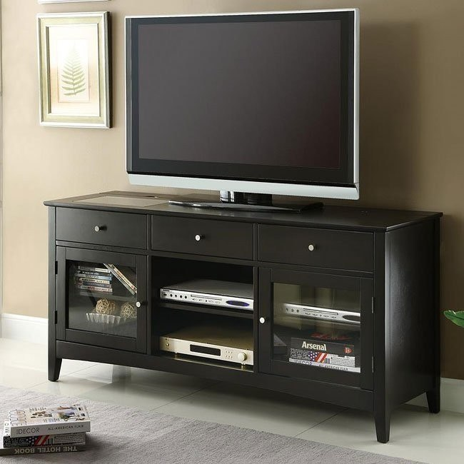 Connect-It TV Console in Cappuccino