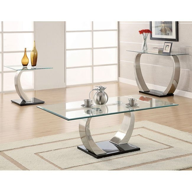 Shearwater Ultra Modern Occasional Table Set