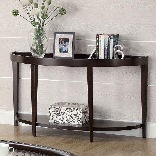 Dark Cherry Sofa Table