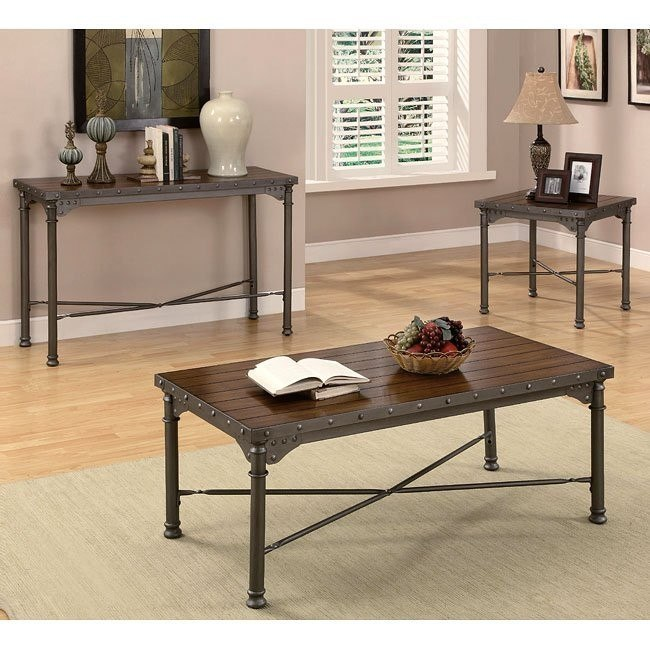 Mission Style Occasional Table Set