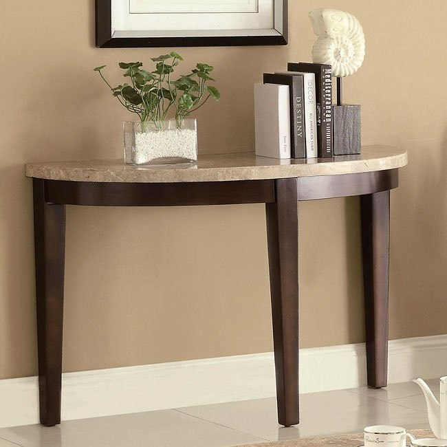 70188 Series Sofa Table w/ Marble Top