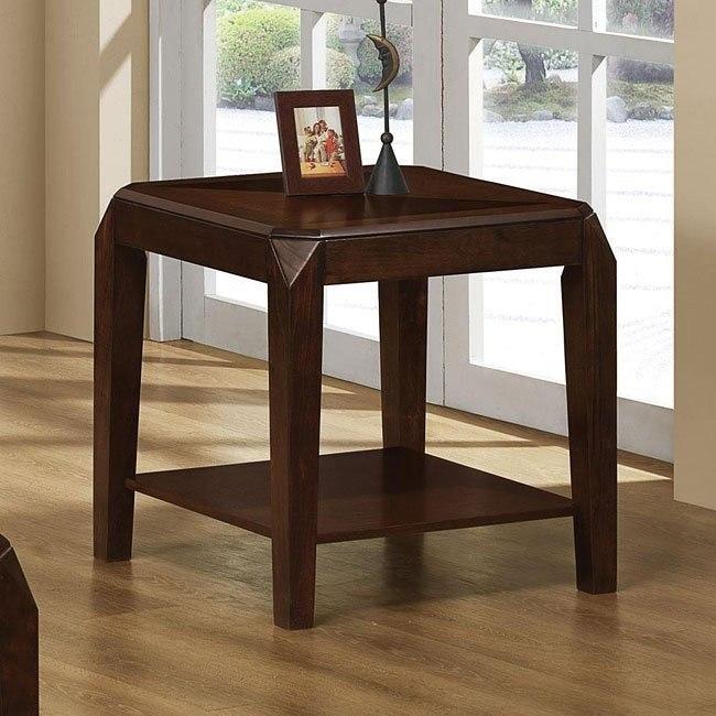 Clip Corner End Table