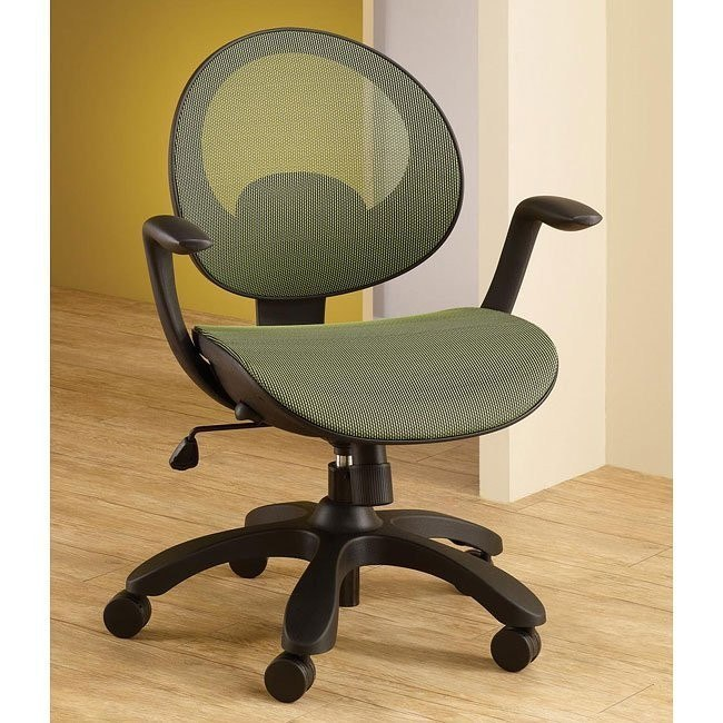 Adjustable Sage Office Chair