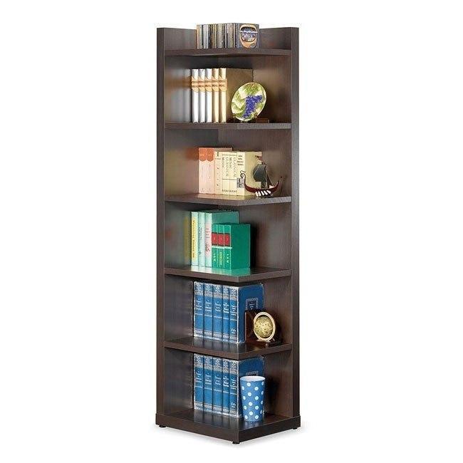 Corner Bookcase w/ Open Side