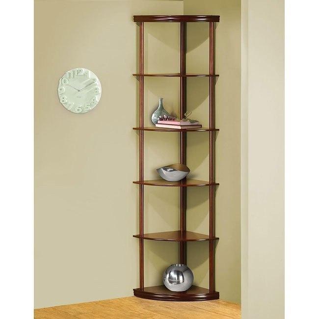 Corner Shelf in Cherry