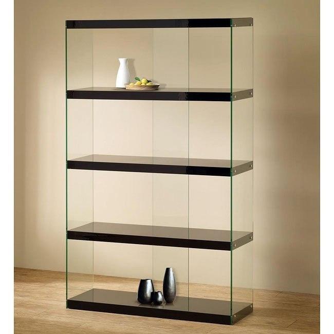 Black Display Cabinet (Black)