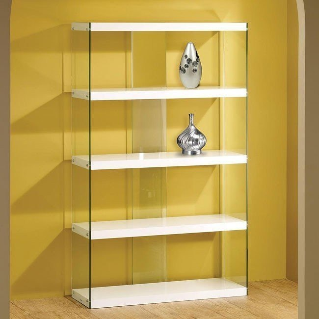 White Display Cabinet (White)