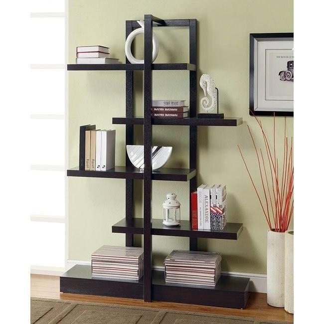 Bookshelf w/ 5 Open Shelves