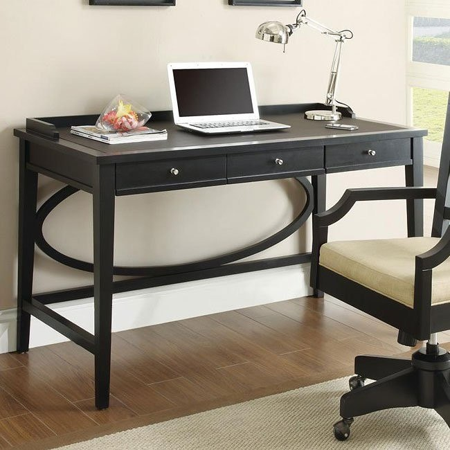 Contemporary Black Desk