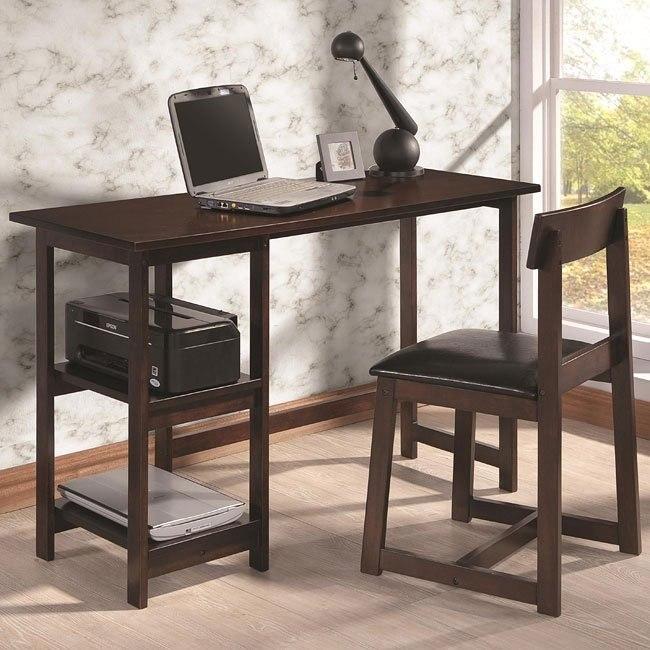 Espresso 2-Piece Desk Set