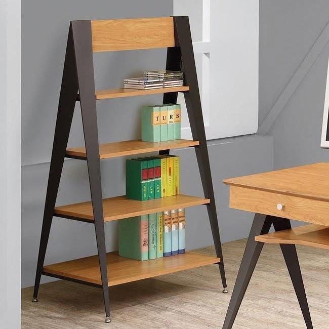 Lori Pecan Bookcase