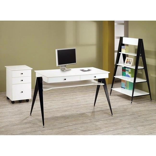 Lori White Home Office Set